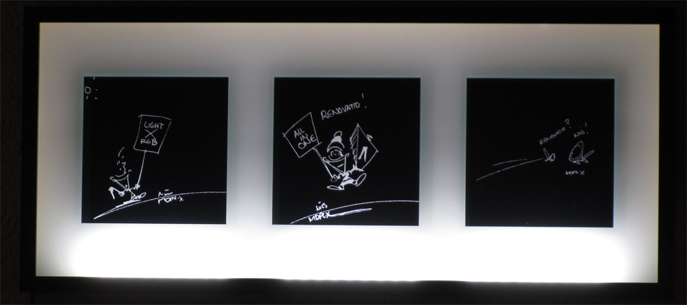 ikea bilderrahmen drei bilderrahmen ideen. Black Bedroom Furniture Sets. Home Design Ideas